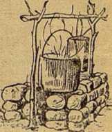 Рис. 17. Очаг из камня