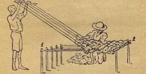 Рис. 22. Ткацкий станок