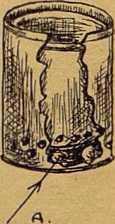Рис. 29. Дымарь из двух жестянок А. Камни