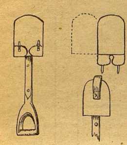 Рис 3. Выкройка чехла для лопатки